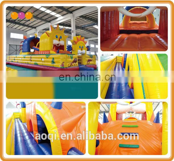 AOQI high quality inflatable fun city sun shape inflatable fun city from china manufacturer