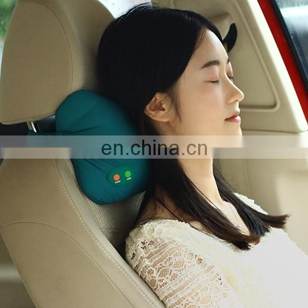 Auto House Dual Use Car Seat Massage Cushion Multifunctional Massager Leg Lumbar Cervical Neck Back Pillow for Relaxing Head