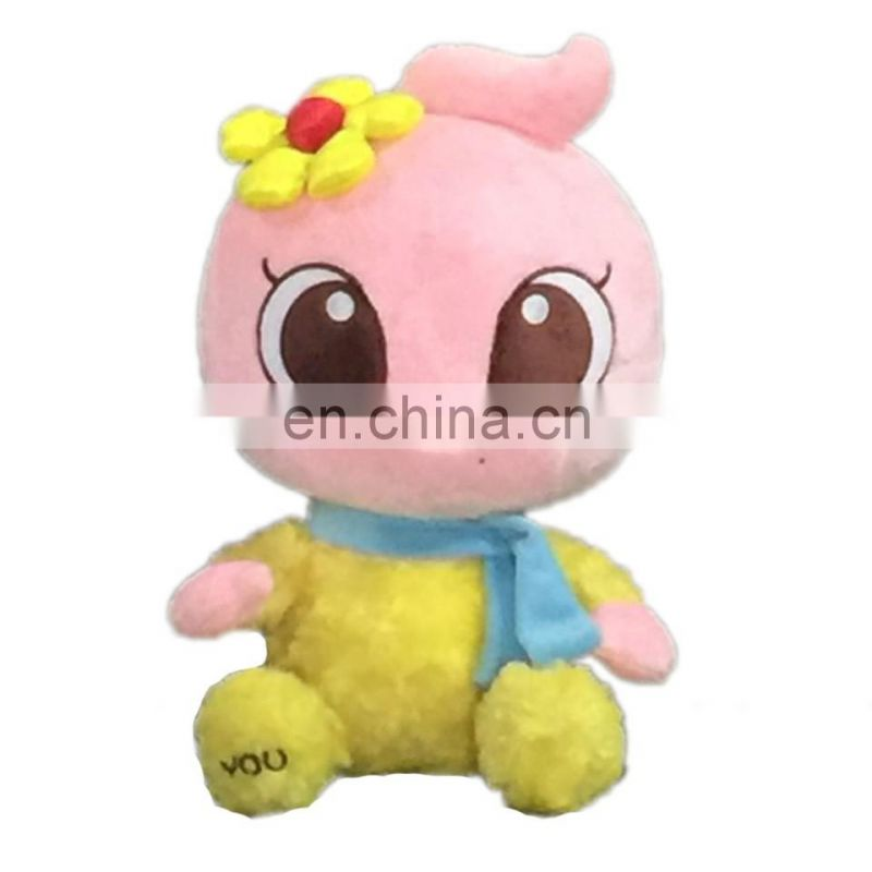 2017 plush stuffed 24 inch girl w/jumpsuits big eye cute girl plush toy