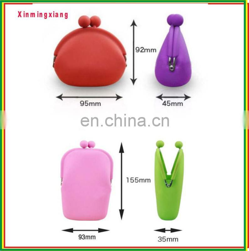 silicone coin wallet pochi purse