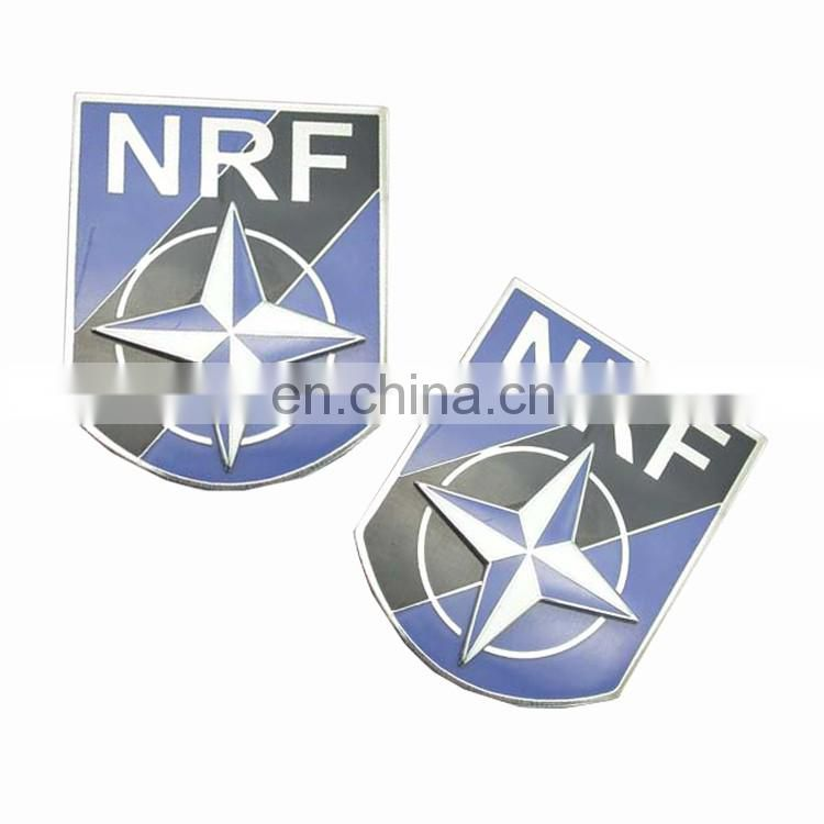 Shenzhen wholesale clear plastic metal pin name badge with your own design