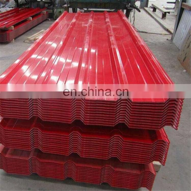 Gloss 65% PPGI dx51d galvanized corrugated metal roofing steel sheet for house roofing