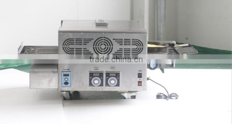 2016 New arrival commerial stainless steel gas conveyor pizza oven for sale