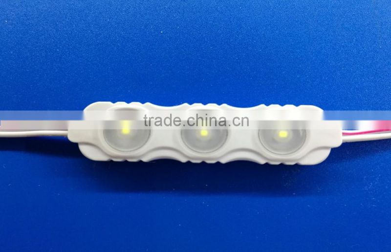 Shenzhen factory outlet 20 LED Module 3 Dream color SMD 2835 Injection 160 Degrees Cool/Wam White Waterproof Strip Light