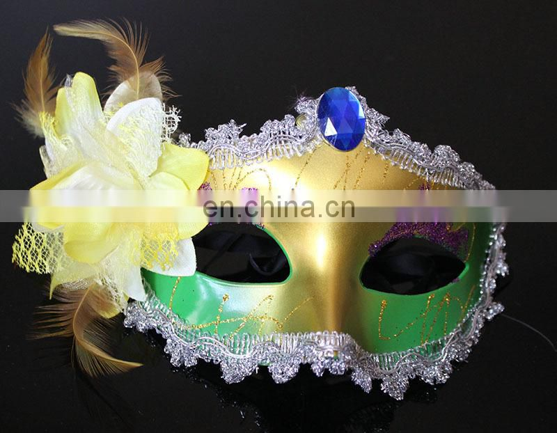 DX-MK-1875 Smile plastic Halloween Party Mask city masquerade masks for sale
