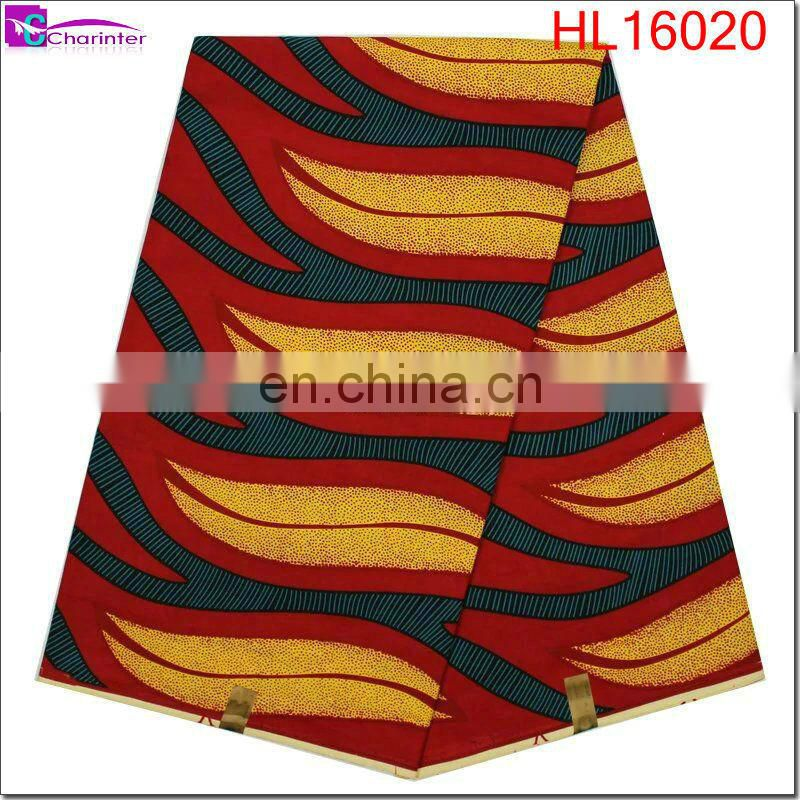 african print fabric wax HL16019