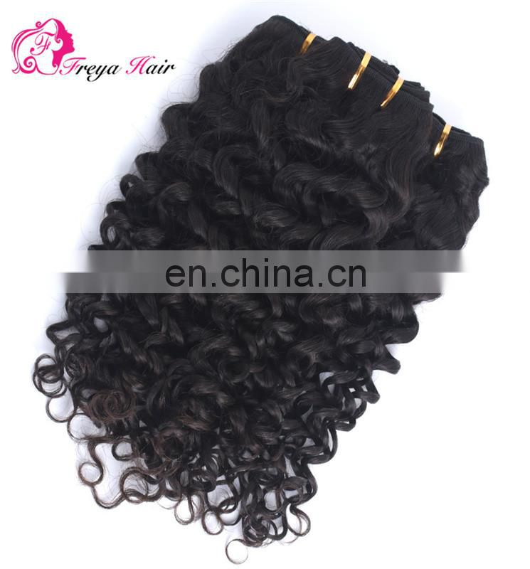 2017 hot sale deep curly 8A virgian brazilian hair bundles mink brazilian hair