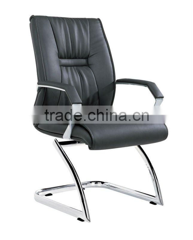 office furniture set guest waiting chair pu leather conference chair