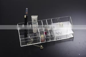 new design transparent lipstick etc cosmetic display case