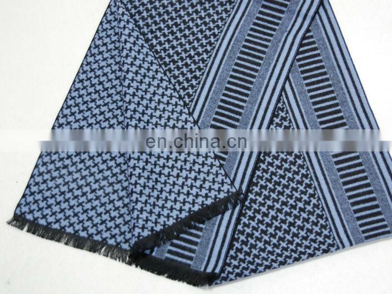 15 Fashion Winter Jacquard Men Scarf
