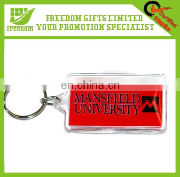 Advertise High Quality Custom Fashion Acrylic Keychain