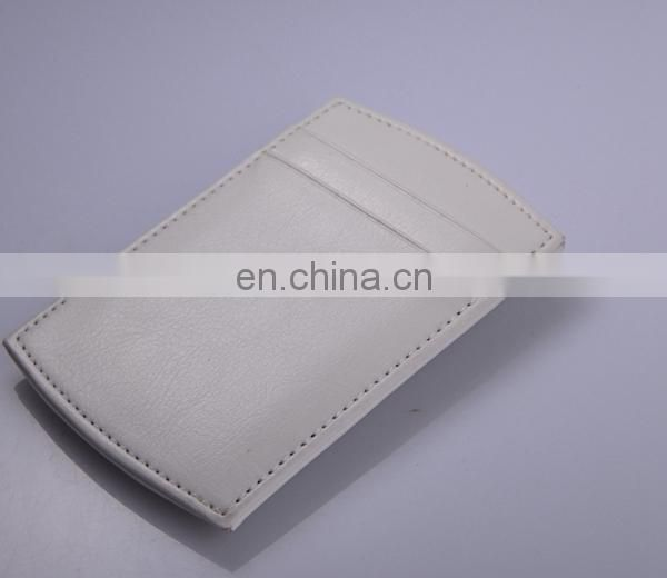 CUSTOM CARD WALLET LEATHER MONEY CLIP WHOLESALE
