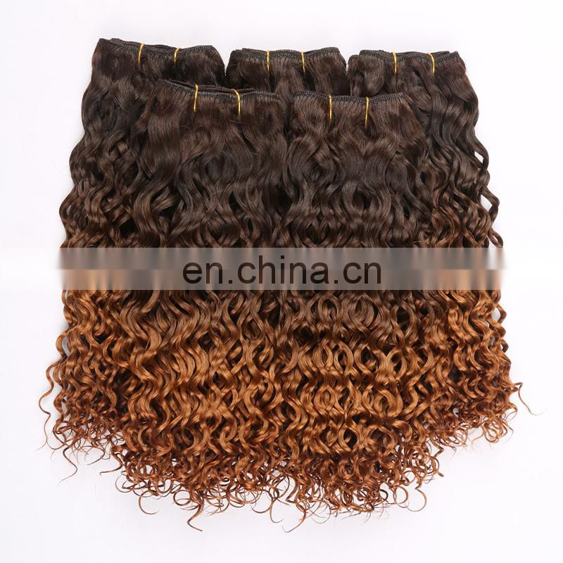 Hot selling T color two tone 99J Body wave 100% virgin Malaysian hair Human hair weave