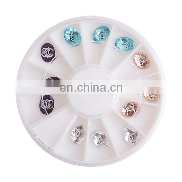 Wholesale Popular 3d nail decoration nail sticker