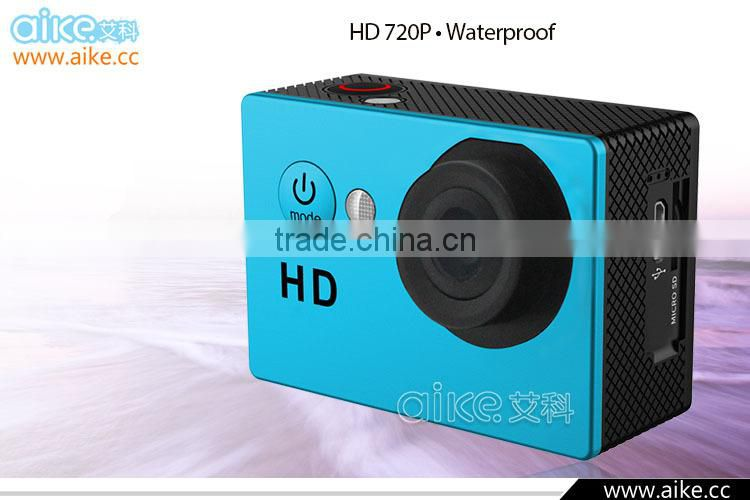 2016 New Waterproof Sports DV Recorder SJ4000 A8 HD 720P Action Camera 1.5 Inch Car DVR Underwater 30M Action video Camera