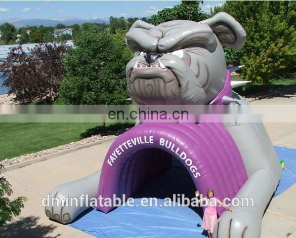 inflatable wildcat animal tunnel for sports advertising