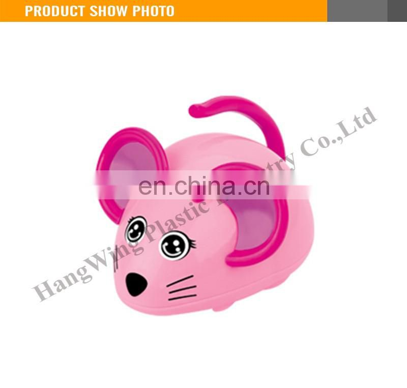 The Solid Color 8CM Chain On The Clever Little Mouse Cute Animal Toy