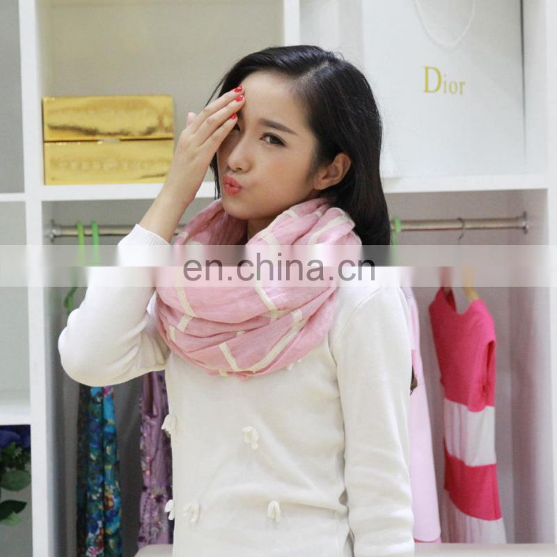 Ladies Fashion Scarf 2014 new winter thickened knitted thermal underwear lady scarf