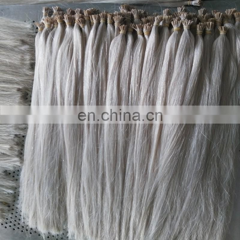China factory wholesale I tip hair extensions popular pre-bonded hair real peruvian hair products