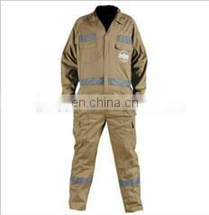 100% Cotton Protective Reflective Coverall in various colors and sizes
