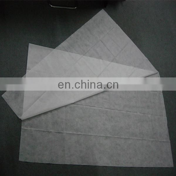 nonwoven disposable bed cover