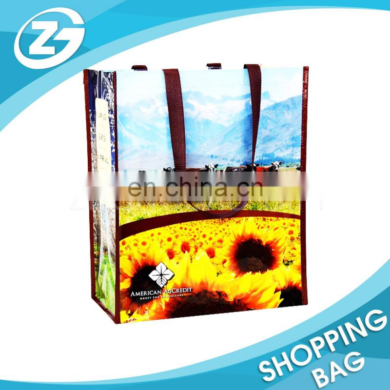 Eco recycled fashionable sunflower bag