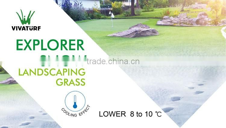 Chinese garden artificial turf for back yard artificialgrass