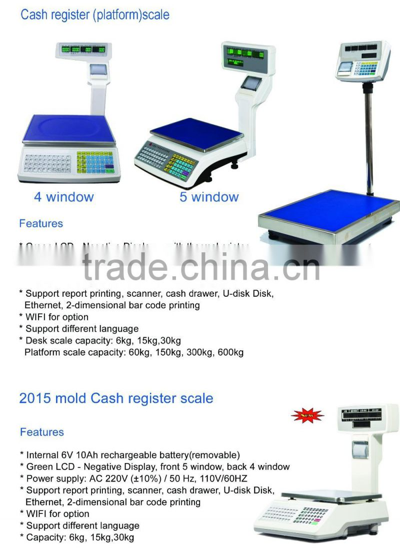 2015 mold ECS electronic cash register weighing scale images