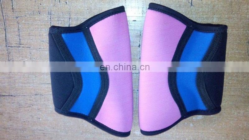 Weight lifting crossfit knee compression sleeve knee pad neoprene knee support