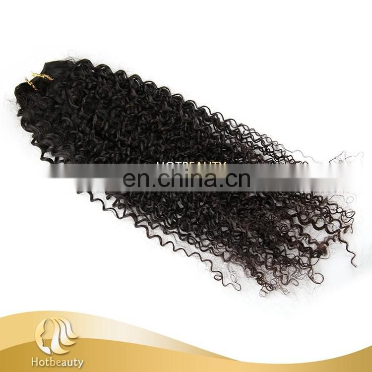 Black woman favorite Kinky curly wave wholesale cheap 26 inch virgin remy brazilian hair weft