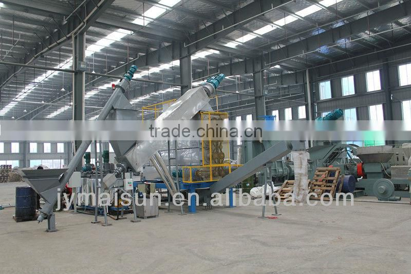 Rubber Powder Desulfurization Equipment for waste tyre/used tires recycling production line