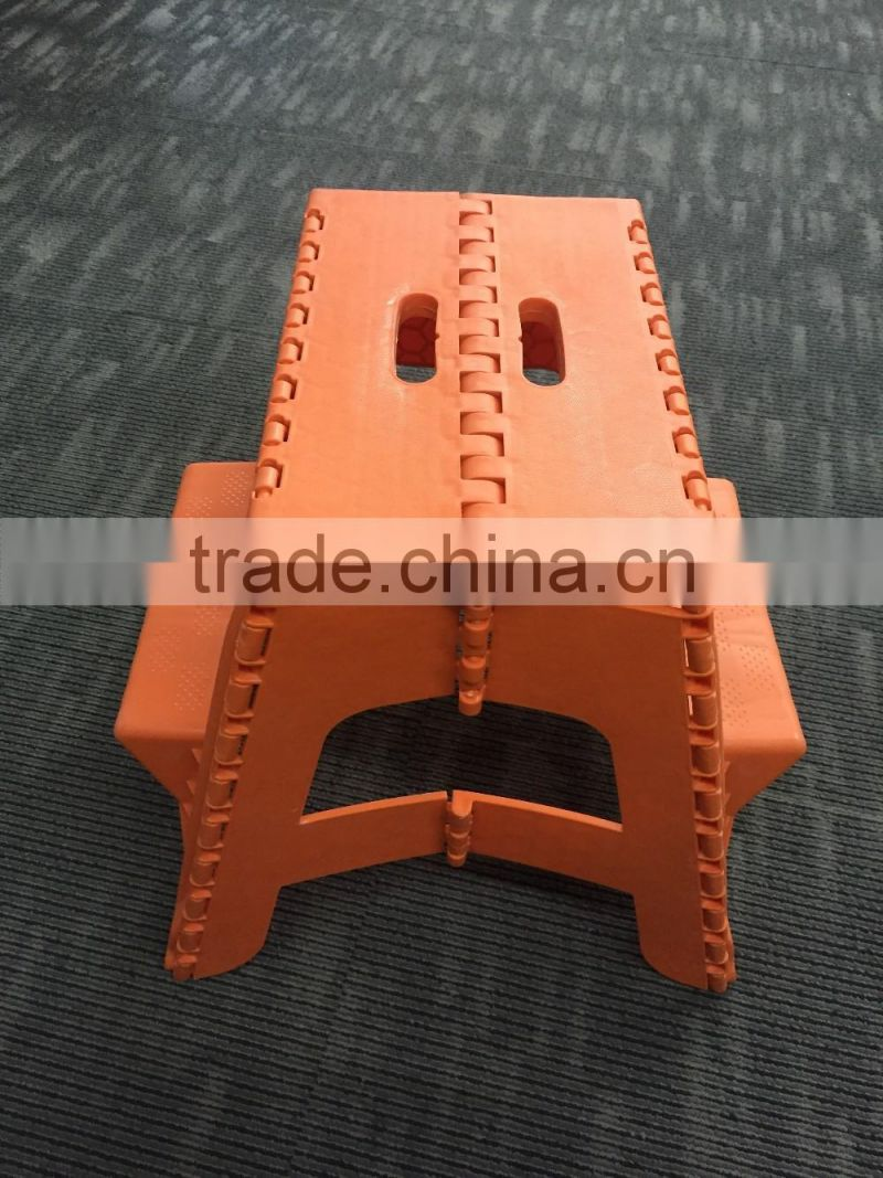 hot sale storage plastic foldable step stool