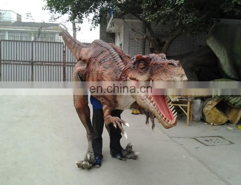 2016 Realistic dino costume for adult