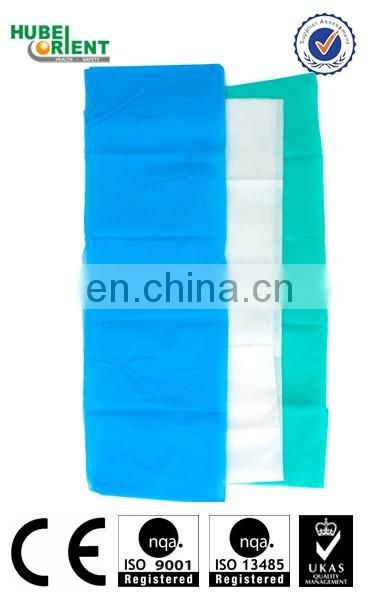 disposable pp 3d hostital surgical bedsheet set