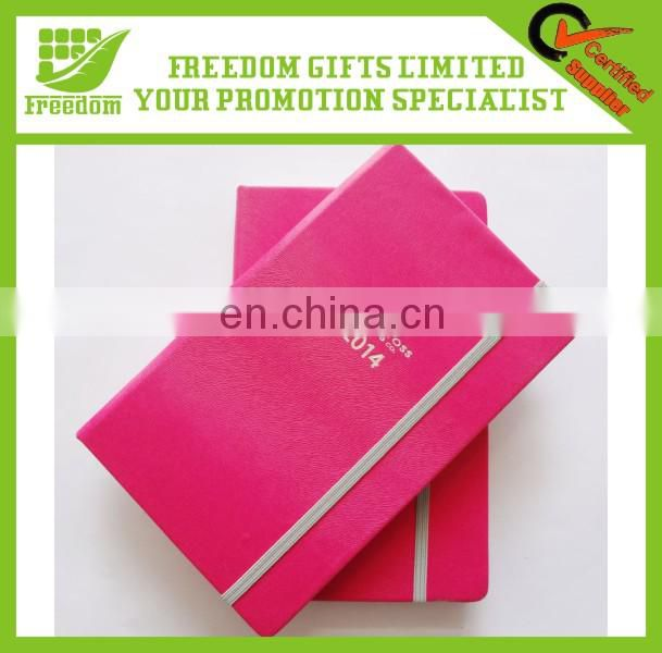 Customized Logo Promotional Elastic Closure Notebook
