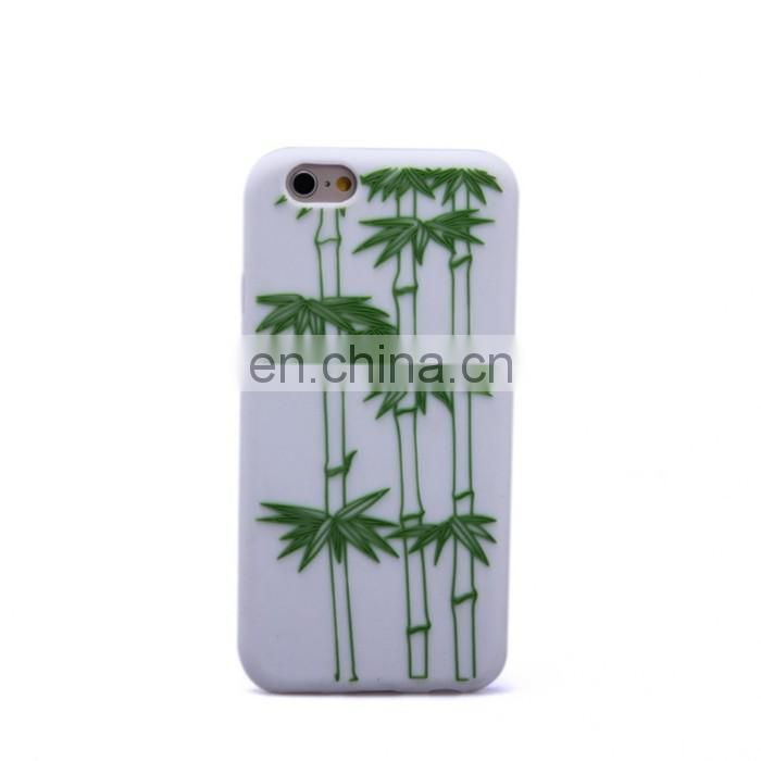 Hot Selling Customized Phone Cover Wholesale Pc + Silicone Case For Iphone 6