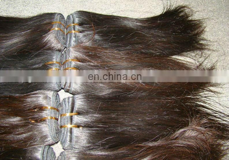 ukraine new high quality 100% indian remy hair weft(hair weaving)