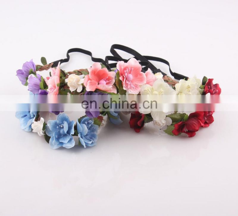 Wedding Flower Garland Headband