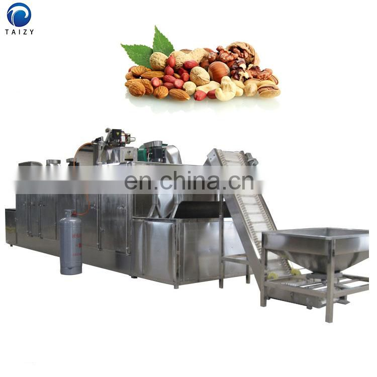 seed pistachio soybean hazelnut chestnut peanuts almond roasting machine