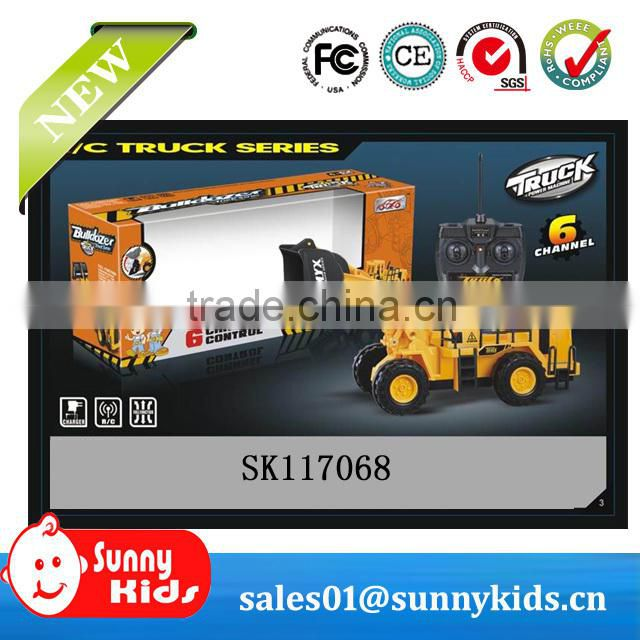 6 channel rc pulling truck toy for sale
