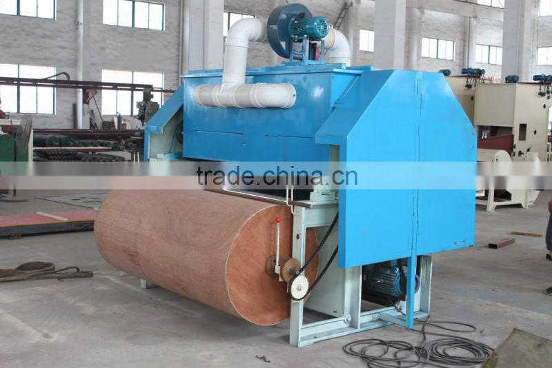 Best selling small sheep wool carding machine with dust collection
