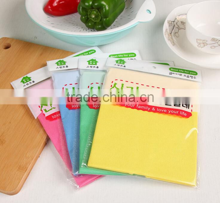 Durable using low price non-slip microfiber cleaning cloth