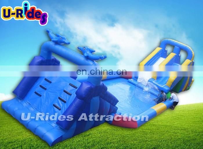 inflatable water park slides for sale