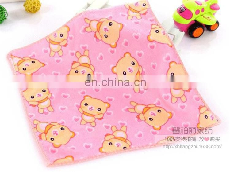 Cheapest Customized Cartoon Printed Microfiber baby towel