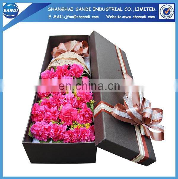 Customized full color printing cardboard gift packaging box