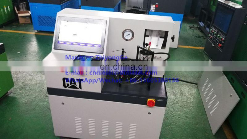 CAT3000L DIESEL HEUI INJECTOR TEST BENCH FOR C7 C9 C-9 INJECTOR WITH GLASS TUBE