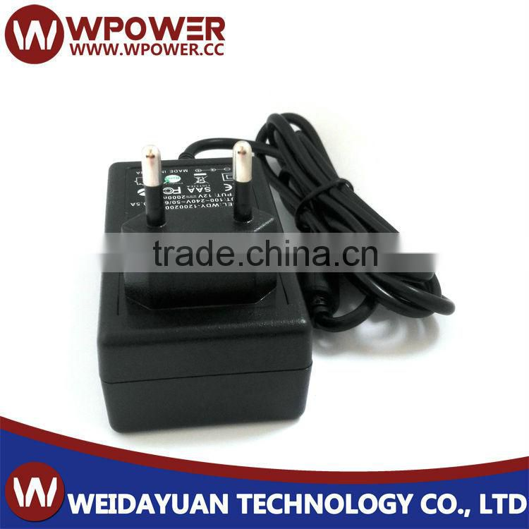 12 Volt DC - 1 5 Amp (12V 1 5A) Power Supply of Plug In Type