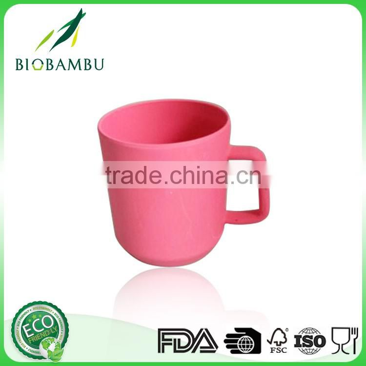 High standard Health material Wholesale Bamboo Fiber Coffee Cup Mugs