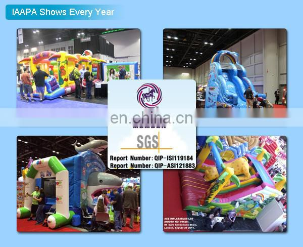new rainbow inflatable obstacle course