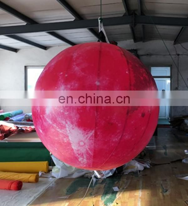 High quality inflatable moon,giant inflatable moon balloon